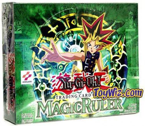 YuGiOh Trading Card Game Magic Ruler Booster Box [24 Packs]