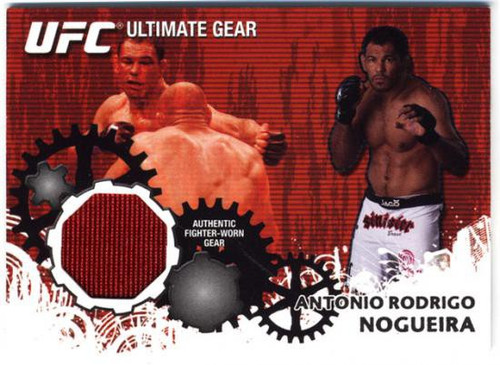 Topps UFC 2010 Championship Ultimate Gear Relic Antonio Rodrigo Nogueira UG-AN [Red]