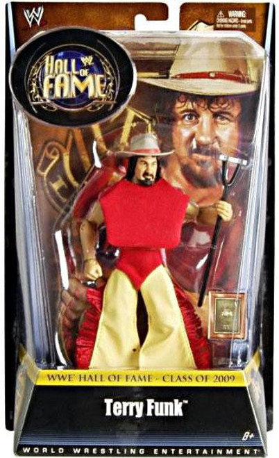 WWE Wrestling Hall of Fame Terry Funk Exclusive Action Figure