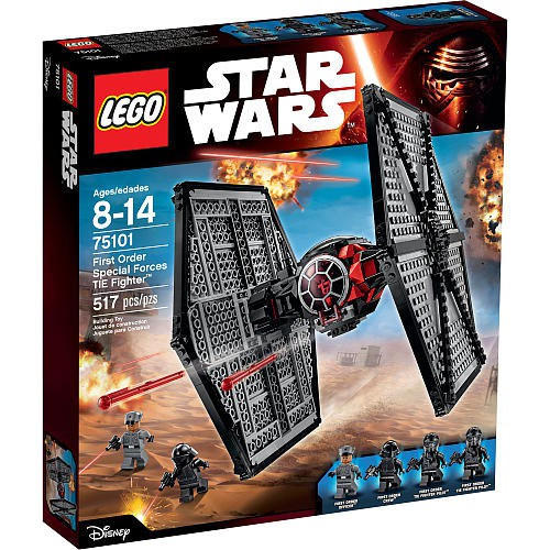 LEGO Star Wars The Force Awakens First Order Special Forces TIE Fighter Set #75101 [517 Pieces]