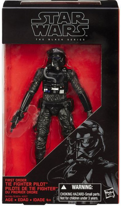 Star Wars The Force Awakens Black Series Tie Fighter Pilot Action Figure