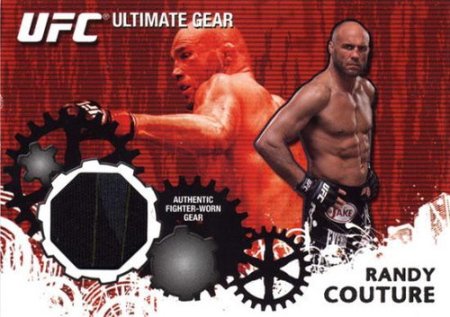 Topps UFC 2010 Championship Ultimate Gear Relic Randy Couture UG-RC [Black & Blue]