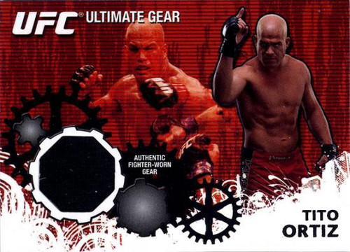 Topps UFC 2010 Championship Ultimate Gear Relic Tito Ortiz UG-TO