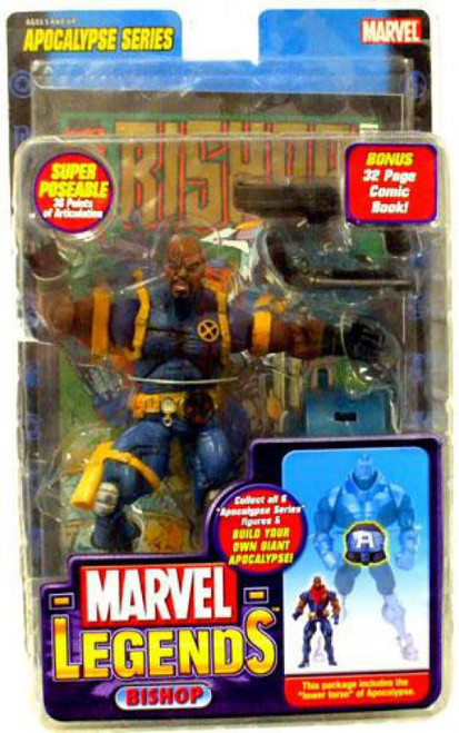 Marvel Legends Series 12 Apocalypse Bishop Action Figure [Shaved Head Variant]