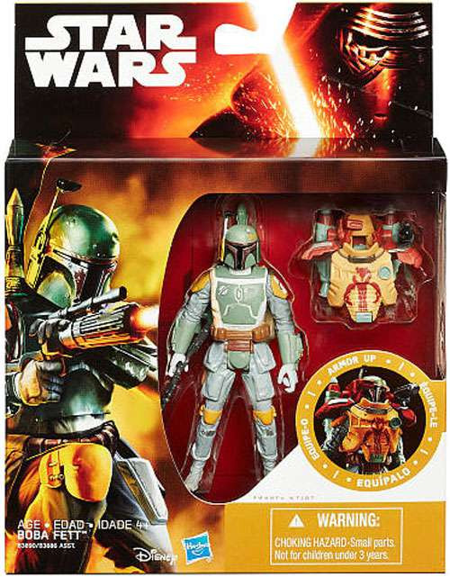 Star Wars The Force Awakens Mission Armor Boba Fett Action Figures