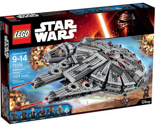 LEGO Star Wars The Force Awakens Millennium Falcon Set #75105