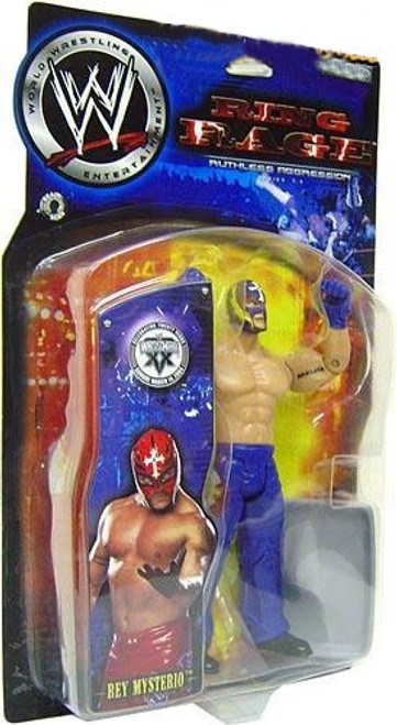 WWE Wrestling Ruthless Aggression Series 7.5 Ring Rage Rey Mysterio Action Figure