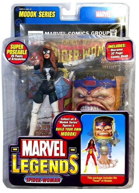 Marvel Legends Series 15 M.O.D.O.K. Spider-Woman Action Figure [Julia Carpenter Variant]