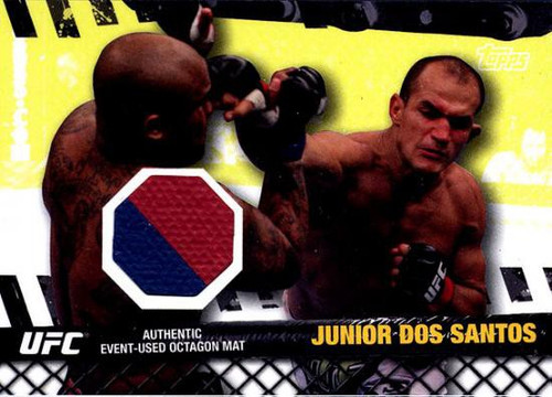 Topps UFC 2010 Championship Fight Mat Relic Junior Dos Santos FM-JDS