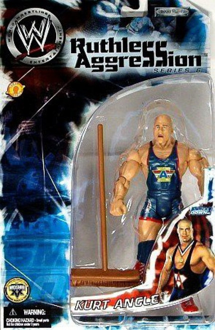 WWE Wrestling Ruthless Aggression Series 6 Kurt Angle Action Figure