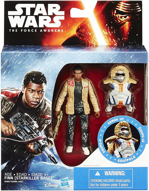 Star Wars The Force Awakens Mission Armor Finn Action Figure [Starkiller Base]
