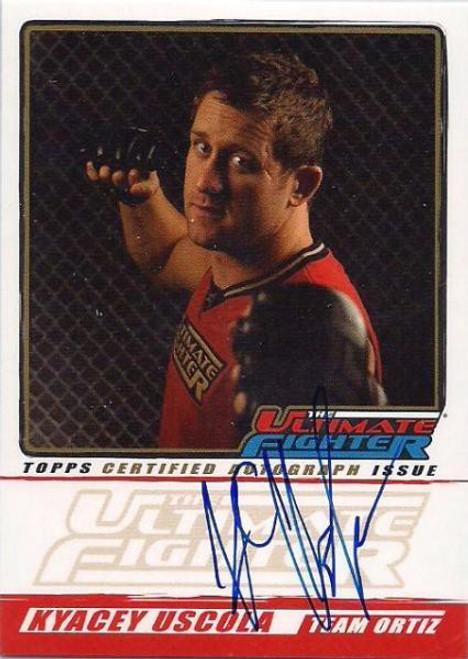 Topps UFC 2010 Championship The Ultimate Fighter Autograph Kyacey Uscola TUF-KU