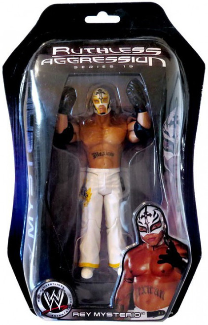 WWE Wrestling Ruthless Aggression Series 19 Rey Mysterio Action Figure