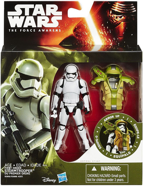 Star Wars The Force Awakens Mission Armor First Order Stormtrooper Action Figure [Forest Mission Armor]