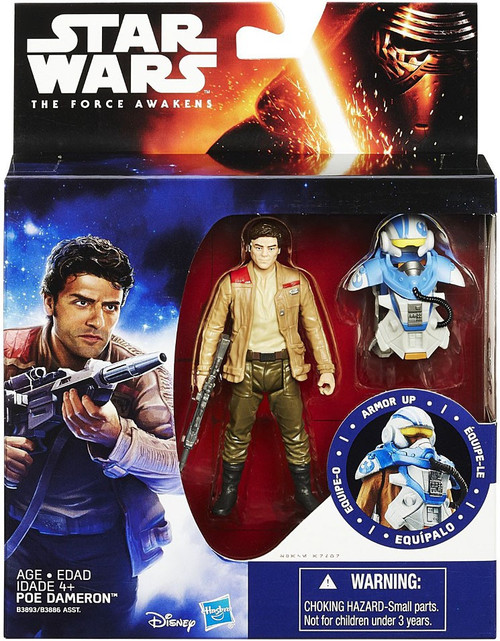 Star Wars The Force Awakens Mission Armor Poe Dameron Action Figure [Space Mission Armor]