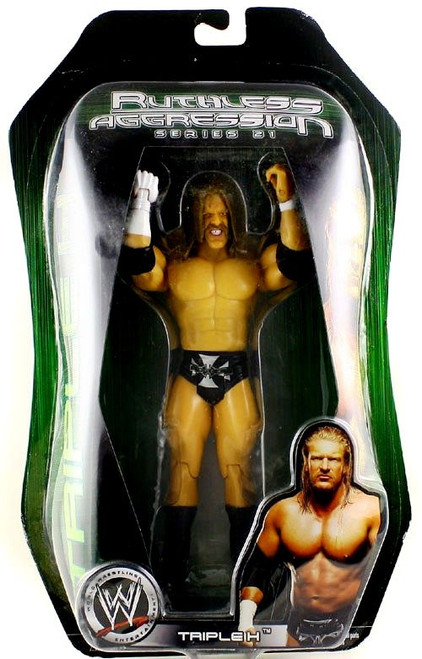 WWE Wrestling Ruthless Aggression Series 21 Triple H Action Figure