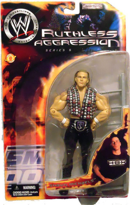 WWE Wrestling Ruthless Aggression Series 5 Shawn Michaels Action Figure