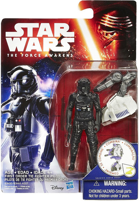 Star Wars The Force Awakens Jungle & Space First Order Tie Fighter Pilot Action Figure