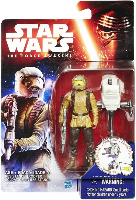 Star Wars The Force Awakens Jungle & Space Resistance Trooper Action Figure