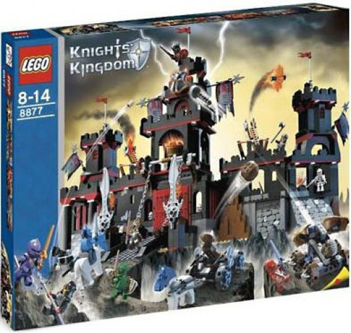 LEGO Knights Kingdom Vladek's Dark Fortress Set #8877