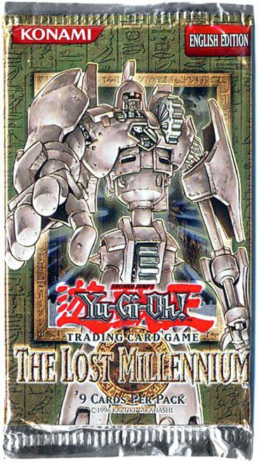 YuGiOh Trading Card Game The Lost Millennium BLISTER Booster Pack [9 Cards]