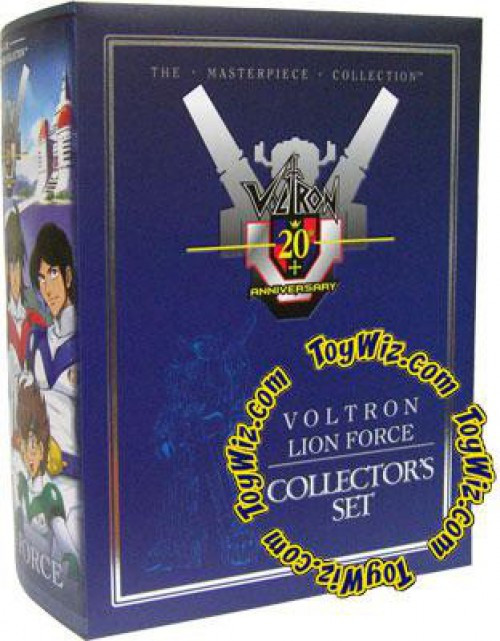 Defender of the Universe Masterpiece Collection Voltron Lion Force Collector's Set
