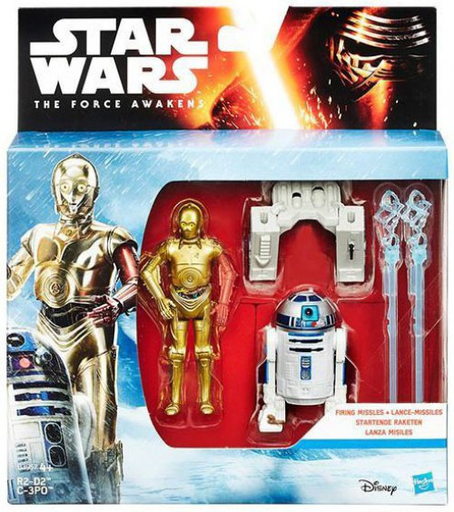 Star Wars The Force Awakens R2-D2 & C-3PO Action Figure 2-Pack