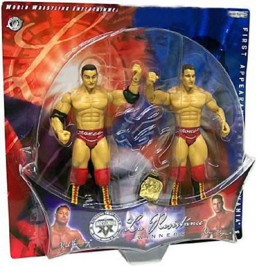 WWE Wrestling WrestleMania 20 Rob Conway & Rene Dupree Action Figure [La Resistance Winners]