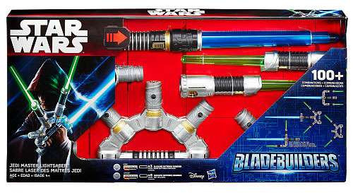 Star Wars The Force Awakens Bladebuilders Jedi Master Lightsaber Roleplay Toy