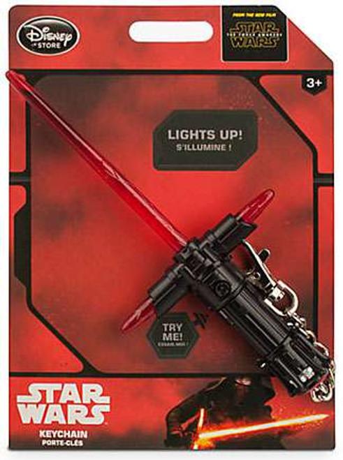 Disney Star Wars The Force Awakens Kylo Ren Lightsaber 7.5-Inch Keychain
