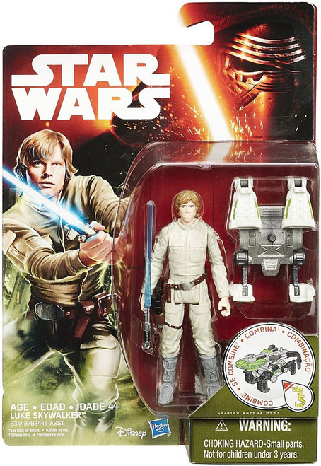 Star Wars The Force Awakens Jungle & Space Luke Skywalker Action Figure
