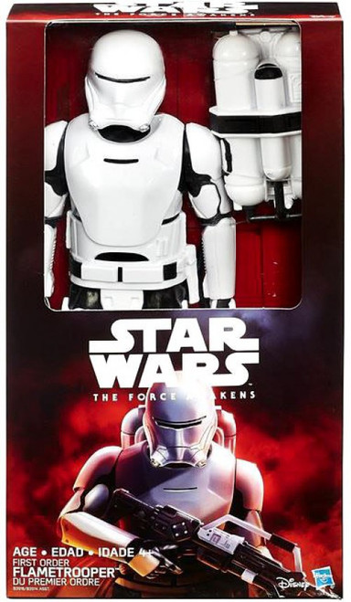 Star Wars The Force Awakens Hero Series First Order Flametrooper Deluxe Action Figure