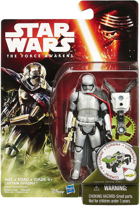 Star Wars The Force Awakens Jungle & Space Captain Phasma Action Figure