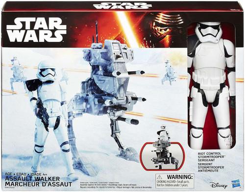 Star Wars The Force Awakens Assault Walker & Riot Stormtrooper 12-Inch Vehicle & Figure