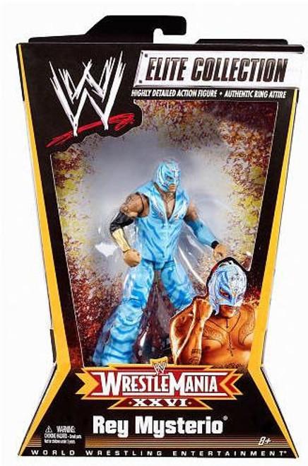 WWE Wrestling Elite Collection WrestleMania 26 Rey Mysterio Exclusive Action Figure