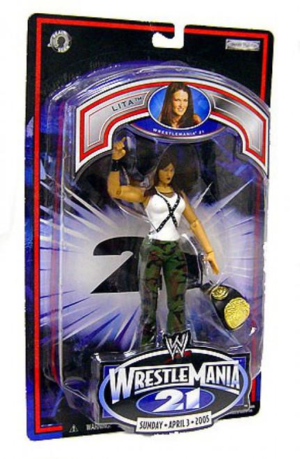 WWE Wrestling Wrestlemania 21 Lita Action Figure
