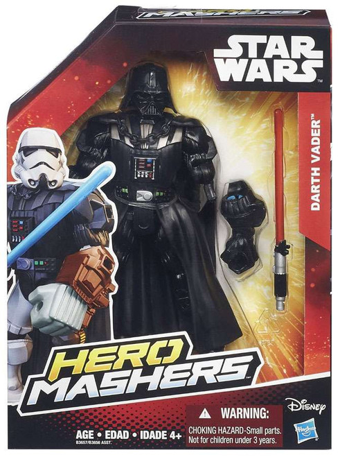 Star Wars The Force Awakens Hero Mashers Darth Vader Action Figure