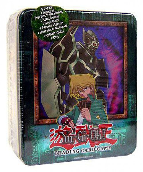 YuGiOh 2003 Joey's Gearfried the Iron Knight Tin Set