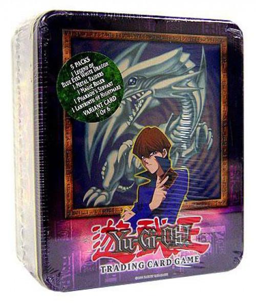 YuGiOh 2003 Kaiba's Blue Eyes White Dragon Tin Set