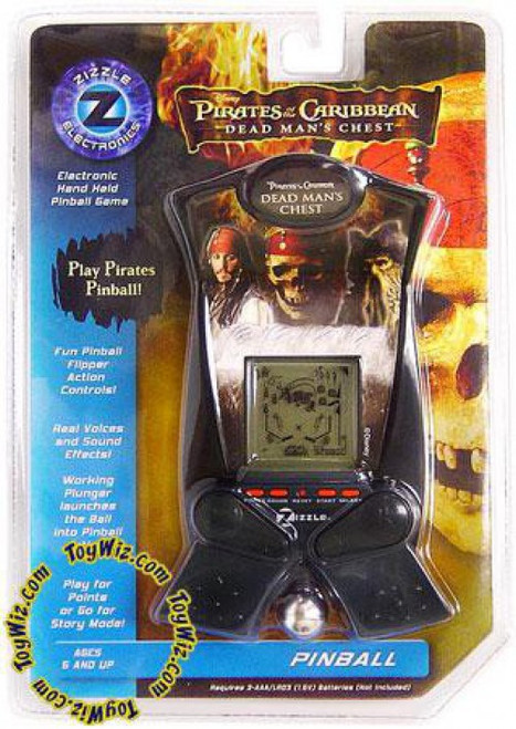 Pirates of the Caribbean Dead Man's Chest Hand Held Arcade Pinball