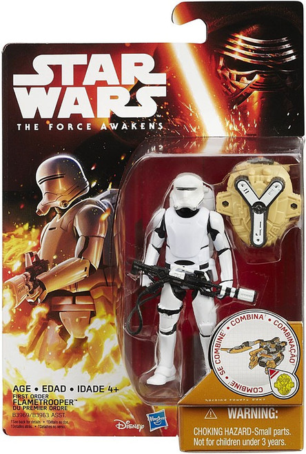 Star Wars The Force Awakens Snow & Desert First Order Flametrooper Action Figure [Desert Mission]