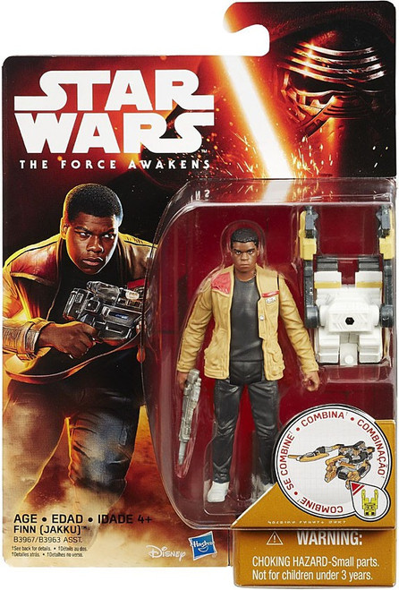 Star Wars The Force Awakens Snow & Desert Finn Action Figure [Desert Mission]