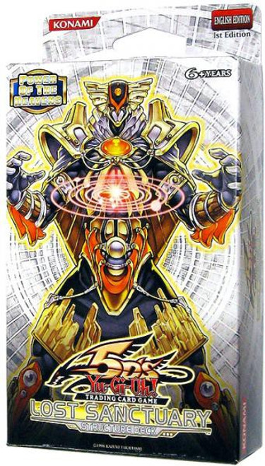 YuGiOh Trading Card Game Lost Sanctuary (1st Edition) Structure Deck