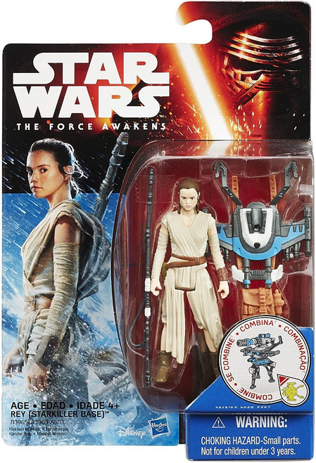 Star Wars The Force Awakens Snow & Desert Rey (Starkiller Base) Action Figure [Snow Mission]