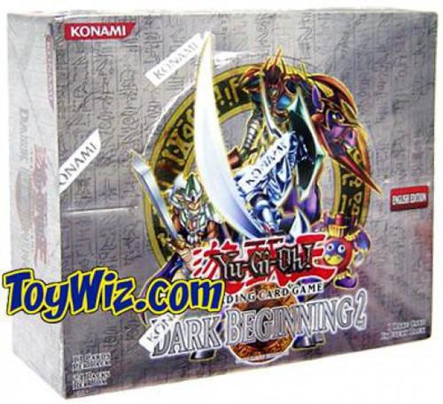 YuGiOh Trading Card Game Dark Beginning 2 Booster Box