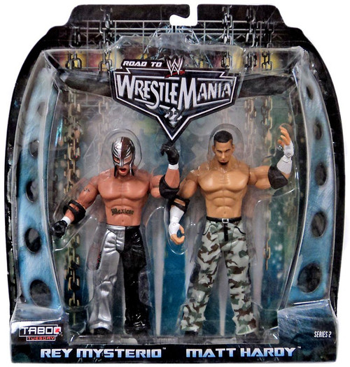 WWE Wrestling Road to WrestleMania 22 Series 2 Rey Mysterio & Matt Hardy Action Figure 2-Pack