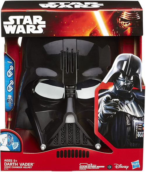 Star Wars The Force Awakens Darth Vader Voice Changer Helmet