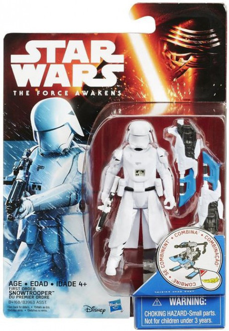 Star Wars The Force Awakens Snow & Desert First Order Snowtrooper Action Figure