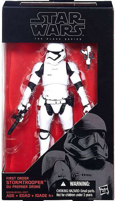 Star Wars The Force Awakens Black Series First Order Stormtrooper Action Figure