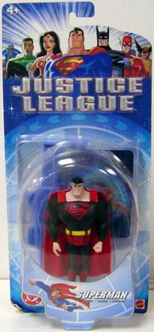 DC Justice League Superman Action Figure [Black Suit Variant]